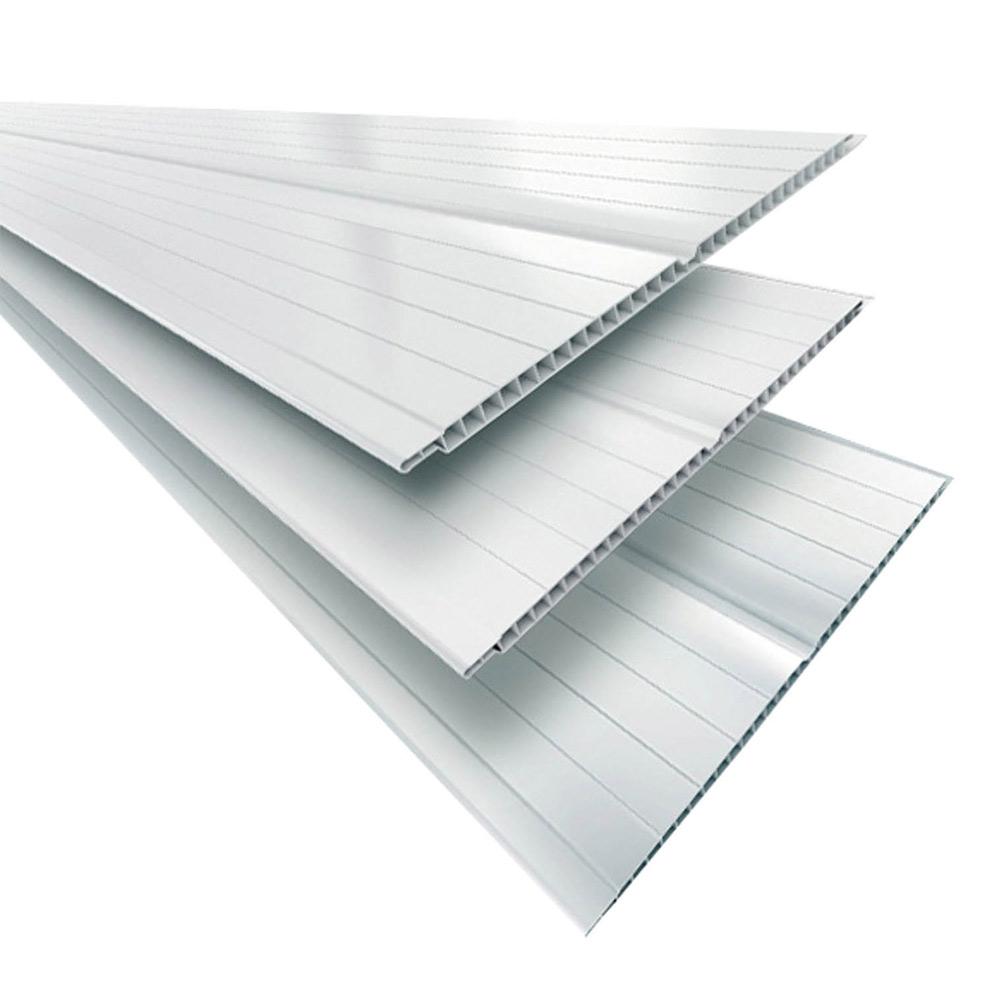 Forro PVC Branco 200x6mm e 200x8mm